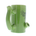 Roast & Toast Coffee Mug  coffee mug green color