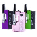 Randy's variable voltage charm cartridge vape in pink, purple and green