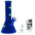 Stratus Silicone Tube with Honeycomb Pattern, Bees, and Shower Perc Bubbler assorted styles and colors