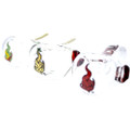 Made in America assorted color glass Medicali spoon handpipe with assorted color Medicali logo on the front.