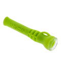 Eyce Silicone Shorty Chillum Taster with glass bowl.