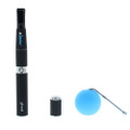 Dr dabber Ghost concentrate vape pen kit with silicone jar, extra coil and dabber.