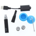 Dr dabber Ghost concentrate vape pen kit with silicone jar, extra coil, charger and dabber.