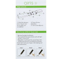 Airis 8 wax dip and dab vape pen kit that is not only a dab wax pen but an electric nectar collector , both have quartz coils and all parts are 510 universal thread