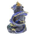 Blue Dragon Crystal Backflow Burner side view