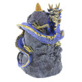 Blue Dragon Crystal Backflow Burner backside view