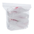 Order 1,000 Apple Brand Zip Bags to receive them all in one large bag.