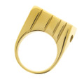 gold Raw smokers ring.