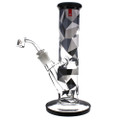 Famous Brandz glass water pipe dab rig, digital.
