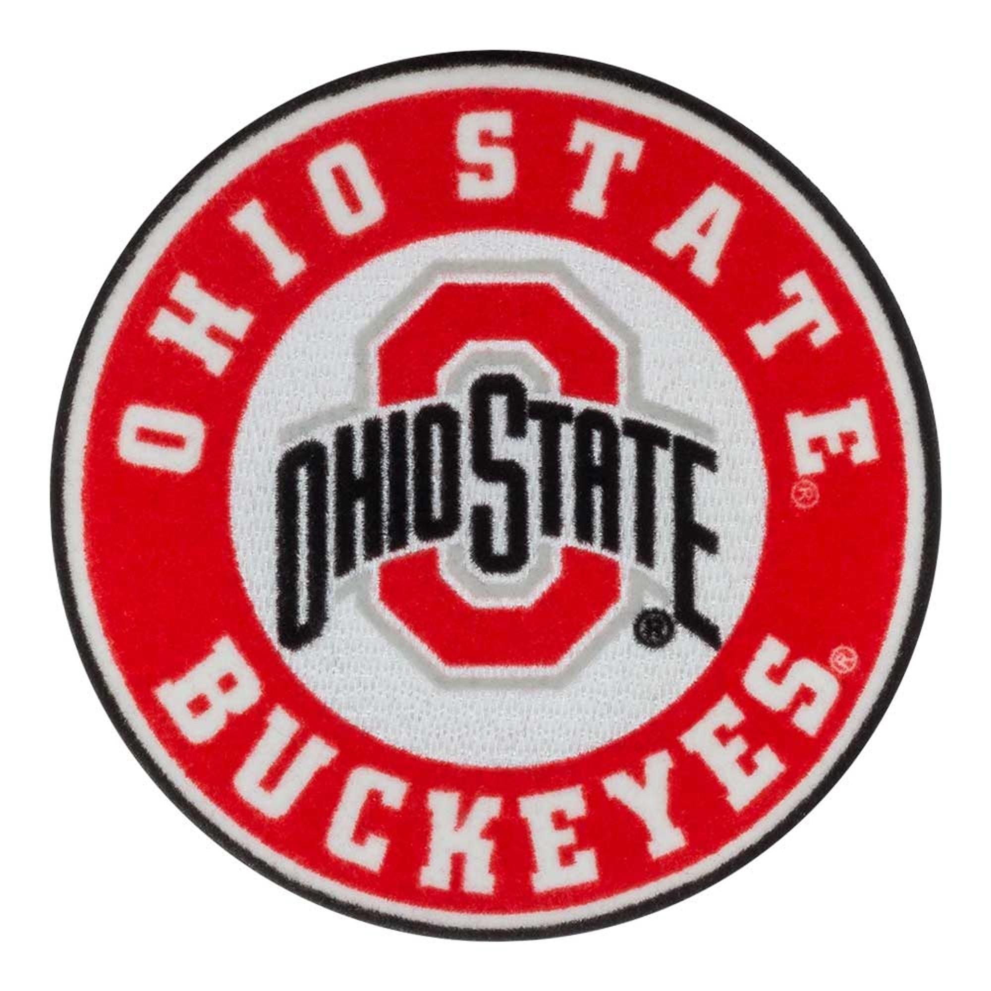 Jenkins Enterprises Ohio State Buckeyes Colored Metal Auto Emblem