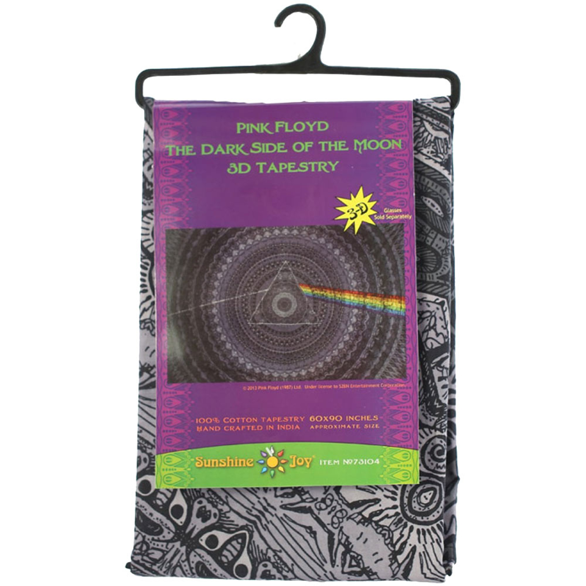 PINK FLOYD-DARK SIDE THE MOON-CLASSIC TAPESTRY-30X45 OR 60X90 Loops,Wallhanging