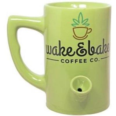 Wake'n'Bake Mug smoking pipe coffee mug