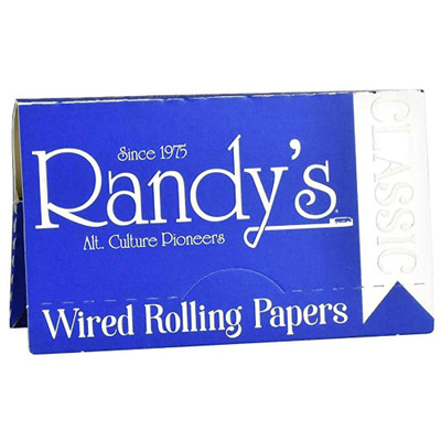 Randy's Classic 1 1/4 Wired Rolling Paper