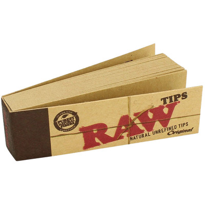 A single pack of Raw Original Tips.