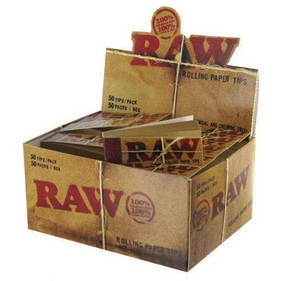 Raw Tips Rolling Papers