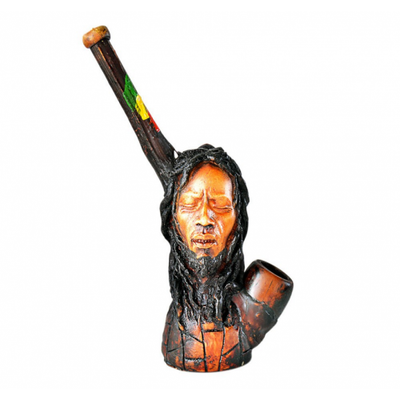 Bob Marley & Lion Handcrafted Pipe