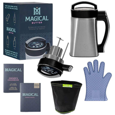 Everything included with the Magical Butter Maker Kit pictured here.