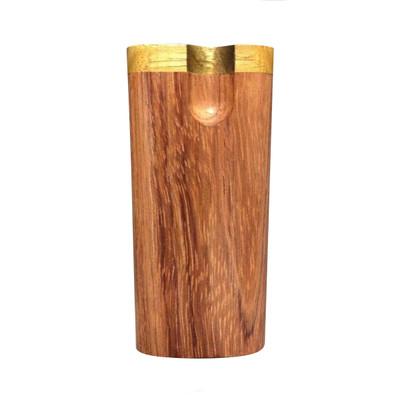 Honduras Wood Swivel Top Dugout with Bat, Large
