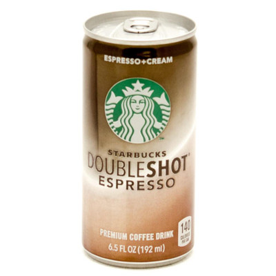 Front view of this Starbucks Can Safe.