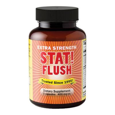 A single bottle of STAT Flush Extra Strength Detox.