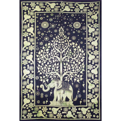 Elephant Tree Tapestry for sale