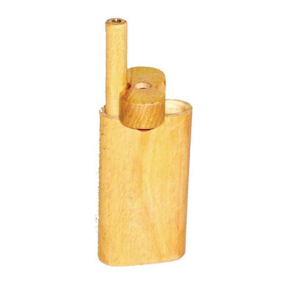 Wood Swivel Smoke System comes with the body with a swivel top and one taster bat.