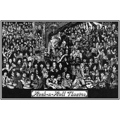 Rock-n-Roll Theatre Poster