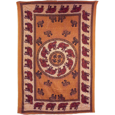 African Elephant Tapestry.