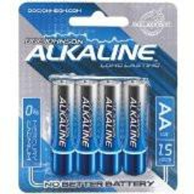 AA Batteries, 4 Pack