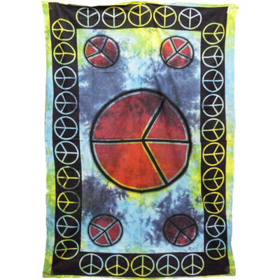 Peace Sign Tapestry