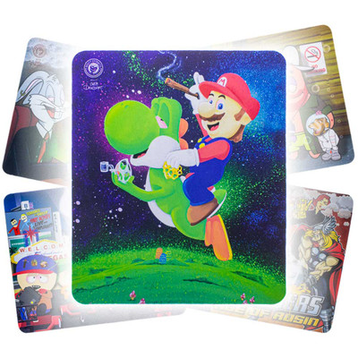 "New! Our latest artwork ""Yoshi Dabs"" by Overdosed Art featuring Yoshi and Mario."