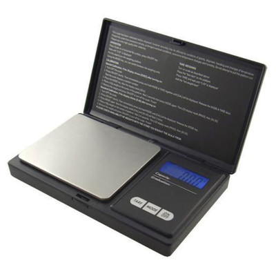 Max 700 Black Digital Scale