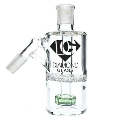 Diamond Glass 14mm 45 Degree Honeycomb or Showerhead Ashcatcher