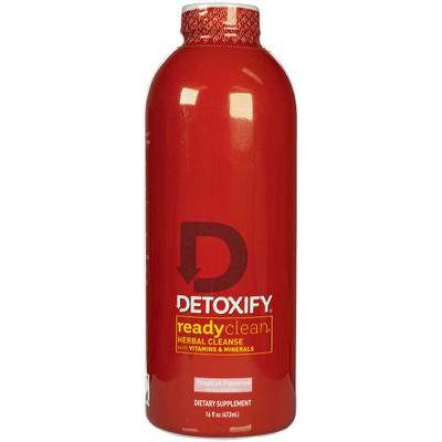 Detoxify Ready Clean Herbal Cleanse Tropical Flavored Detox Drink