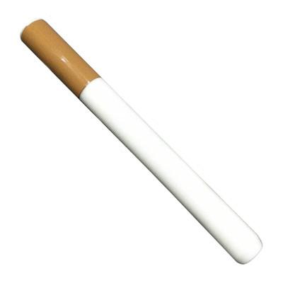 Glass Cigarette One Hitter Bat, Large