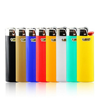 Bic Classic lighters available in assorted colors.