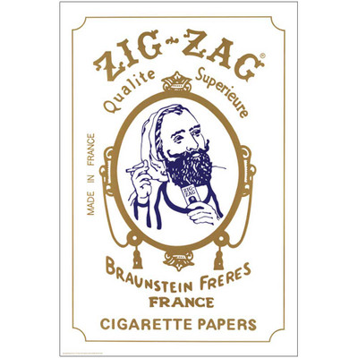 Zig Zag Man Poster