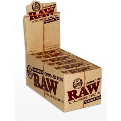 Raw Gummed Tips Box Wholesale