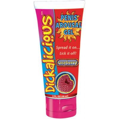 Dickalicious Penis Arousal Cream Raspberry 2 oz.
