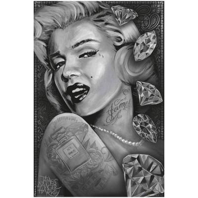 Marilyn Diamonds poster artwork.