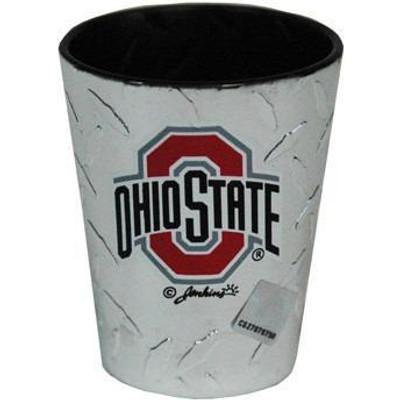 OSU Diamond Plate Shot Glass
