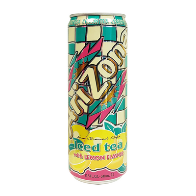 Arizona Lemonade Tea Can Safe