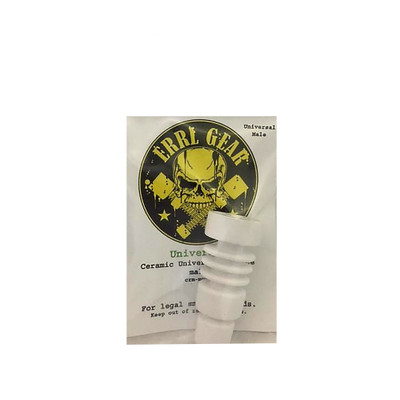 Ceramic Domeless Nail Male Universal Heat Resistant for Dabs High Quality