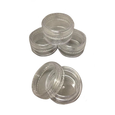 "Clear 1"" Screwtop Containers"