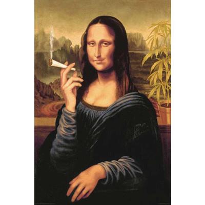 Mona Lisa Joint Poster