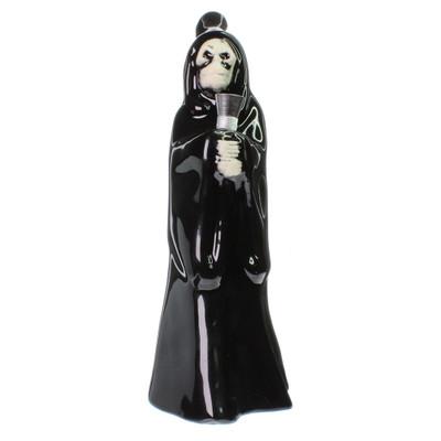 Spooky old school grim reaper skull water pipe.