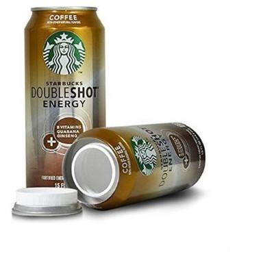 Starbucks Energy Shot Can Safe Diversion Safe Can