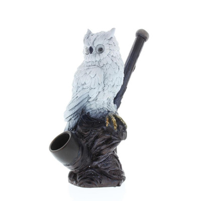 White Owl Handcrafted Pipe