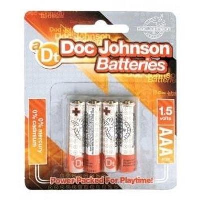 Doc Johnson AAA Batteries (4pk.)