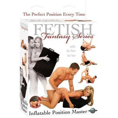 Fetish Fantasy Series Inflatable Position Master, Black
